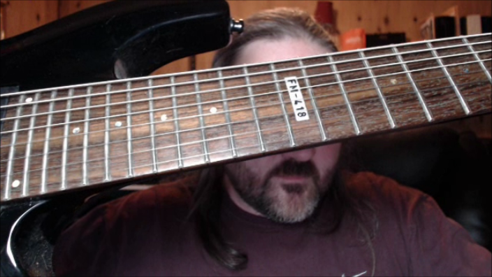 Tune your 8 string guitar like a Lute and move beyond djent